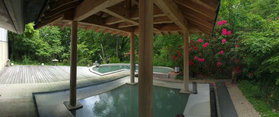 中禅寺湖温泉の景色