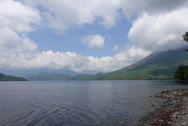 令和お初の中禅寺湖です
